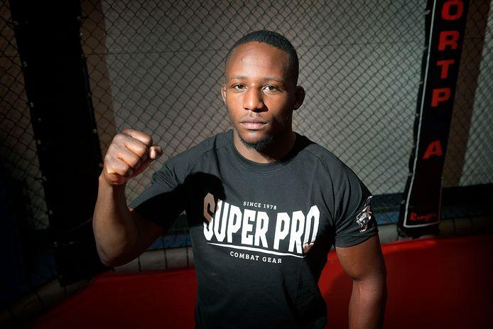 De Dordtse MMA-vechtsporter Gerardo Fanny: ,,Ik wil een voorbeeld zijn.''