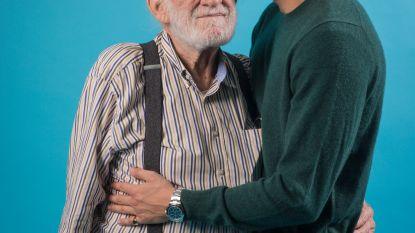 """Twee onafscheidelijke generaties Verhulst. Viktor (25): """"Ik ben de stille"""", Jos (89): """"Ik de tafelspringer"""""""