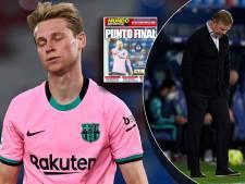 Spaanse kranten bikkelhard voor Koeman: 'Hoe moet hij verder bij Barça?'