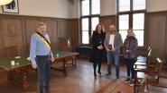 Zo trouw je in coronatijden: Elke en Jürgen enkel met dochter Farah op gemeentehuis Maldegem