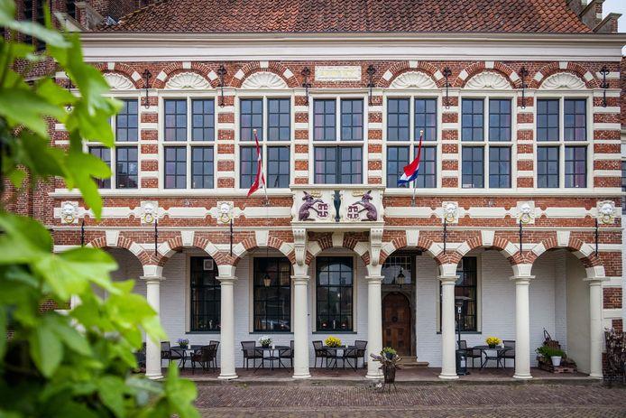 Familierestaurant Seidel zetelt in Vollenhove in het oude Raadhuis.