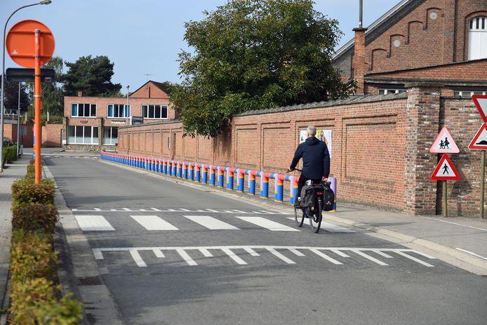De Kouterstraat in Haacht wordt omgevormd tot een schoolstraat,
