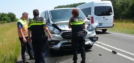 Provincie sluit N375 bij Meppel in één richting af na ongeval