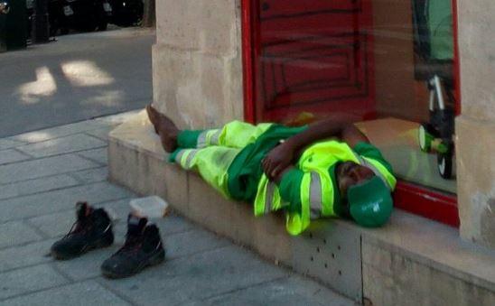 Adama Cissé collectait les déchets des poubelles de rues à Paris depuis 2011