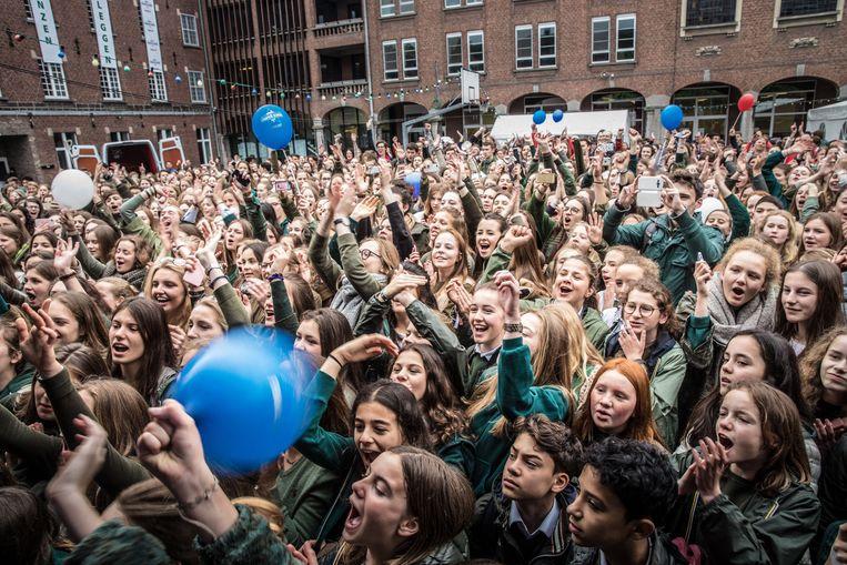 Sint-Bavo werd in 2017 uitgeroepen tot Strafste School door radiozender MNM.