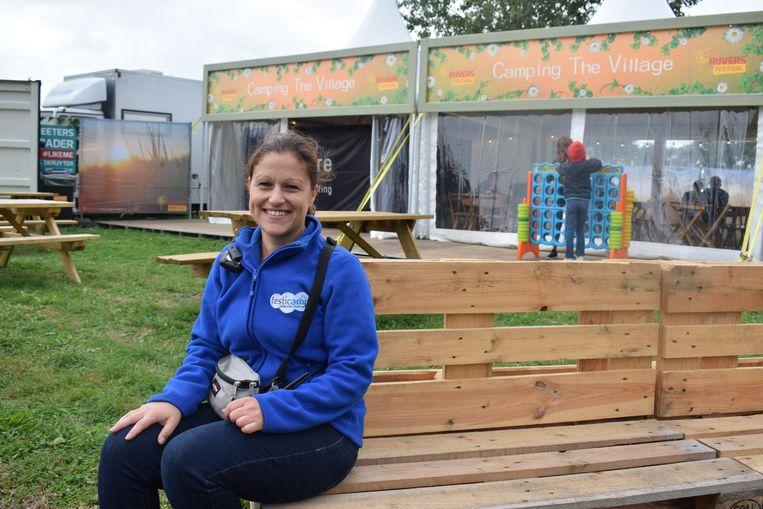 """""""Deze camping blinkt uit in zijn familiaal karakter en in gezelligheid"""", zegt Kristina Loriers van FestiCamp.."""