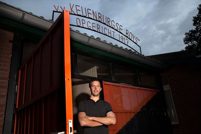 Raymond Sessink neemt zondag na 21 jaar afscheid van het eerste elftal van Keijenburgse Boys.