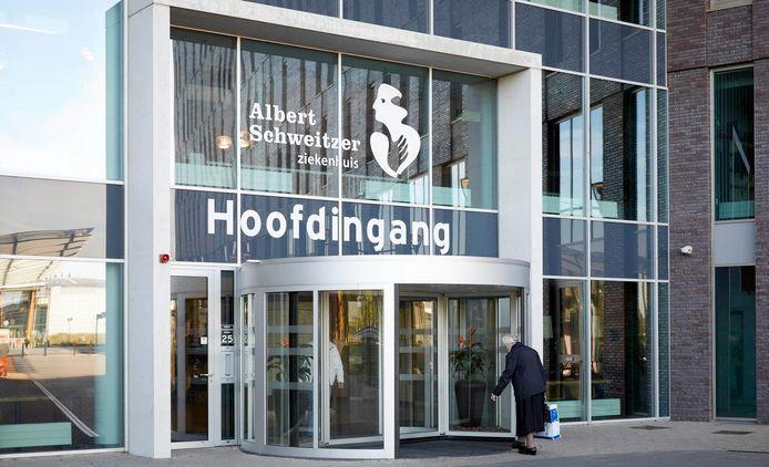Het Albert Schweitzer ziekenhuis in Dordrecht.