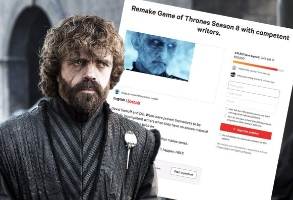 Game of Thrones petitie