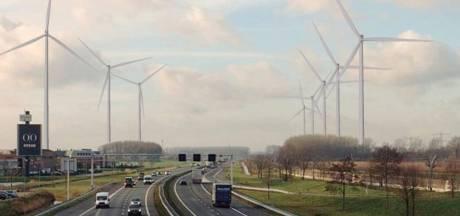Hoeveel windturbines er moeten komen langs de A15 in de Betuwe blijft een heet hangijzer