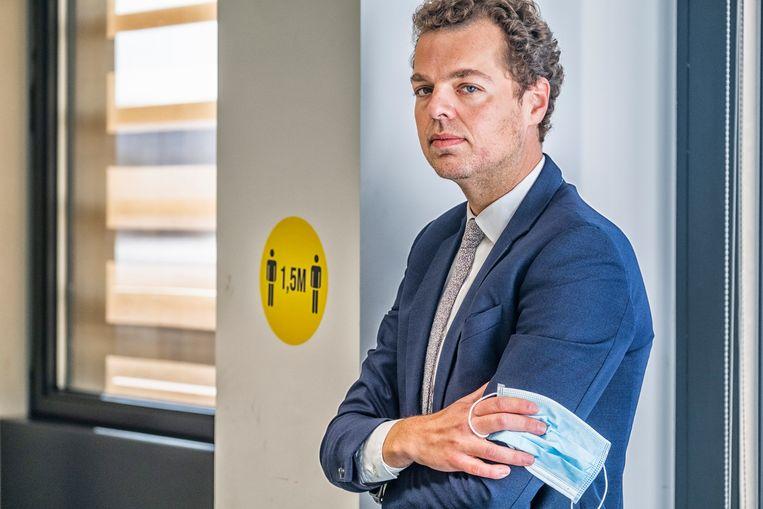 Pedro Facon. 'Het is niet mijn ambitie om woordvoerder van het crisisbeheer te zijn.' Beeld Tim Dirven