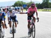 """Bernal staat er beter voor dan verwacht: """"Niet gedacht dat ik nu leider zou zijn. Zo heb ik de Giro ook niet voorbereid"""""""