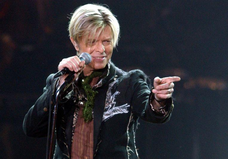 David Bowie. Beeld EPA