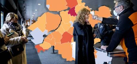 KAART | Weer minder coronabesmettingen in Oost-Nederland: Zwartewaterland blijft zorgelijk