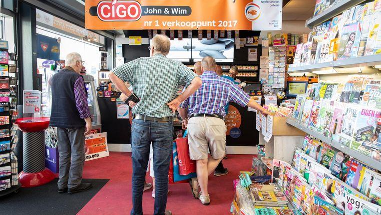 Cigo John en Wim Beeld Dingena Mol