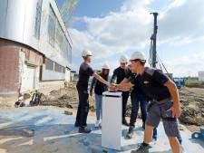 Bouw opleidingscentrum Kampus in Rijssen van start: er kan geboord worden