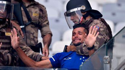 Fans van Cruzeiro reageren met geweld nadat ze voor het eerst degraderen in Brazilië