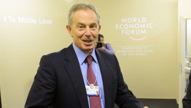 Tony Blair. Beeld ap