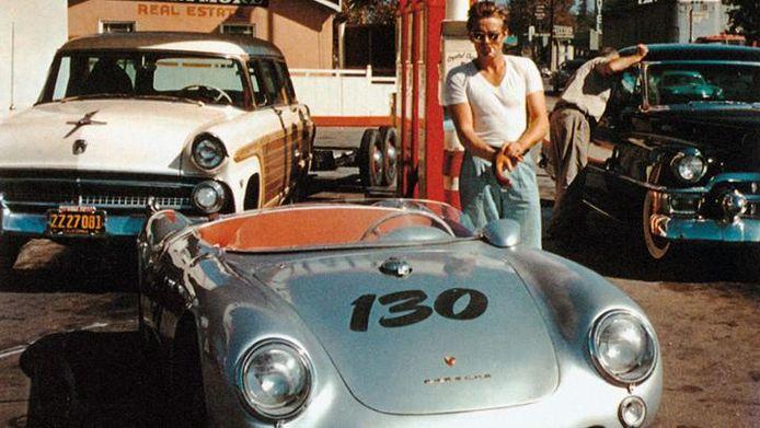 De Porsche 550 Spyder van James Dean.