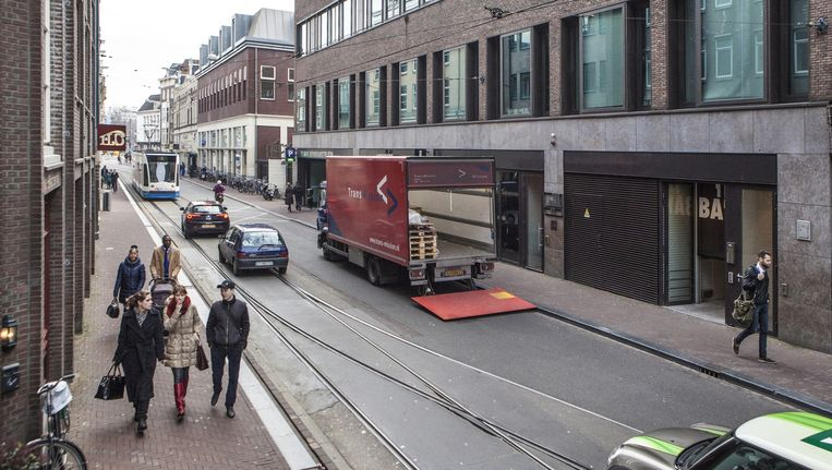 De schietpartij vond plaats op de Amstelstraat Beeld anp