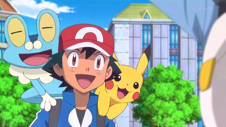 Bij ons werd Pokémon bekend door de tv-serie op VT4. Beeld Pokémon