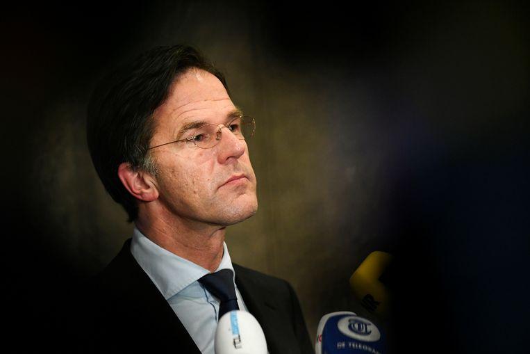 Mark Rutte leidde zijn partij voor de vierde opeenvolgende keer naar de overwinning. Beeld REUTERS