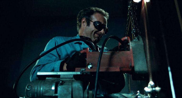 James Caan in Thief van Michael Mann. Beeld