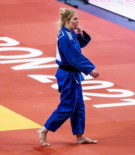 Judoka Kim Polling tekent opnieuw protest aan tegen keuze voor Olympische Spelen