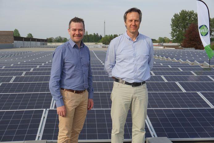 ILvA-voorzitter Bart Van den Neste (links) en de algemeen directeur van ILvA, Bart Rooms (rechts).