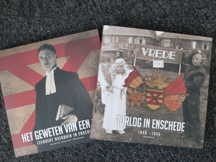 Gecombineerd boek over Leendert Overduin en oorlogsjaren in Enschede.