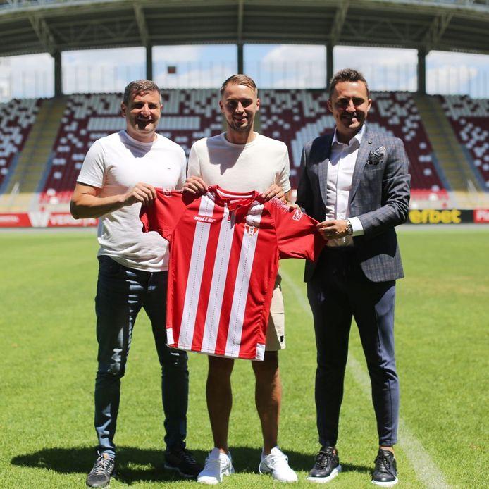 De nieuwe club van Desley Ubbink: UTA Arad uit Roemenië.