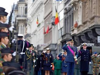 Prins Filip brengt hulde aan graf onbekende soldaat
