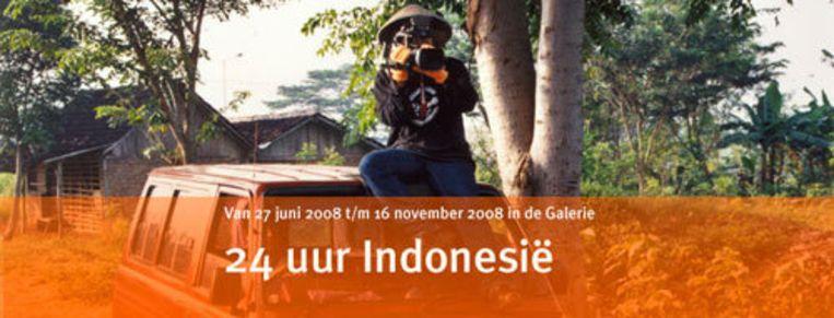 De expositie '24 uur Indonesië' in het Tropenmuseum. Foto tropenmuseum.nl Beeld