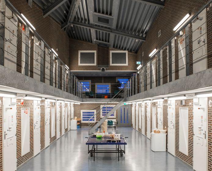 De vrouwengevangenis in Nieuwersluis, bij Utrecht. Hier zat Nawal A. sinds augustus 2020 vast.