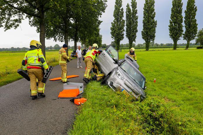 Ongeluk in Emst.