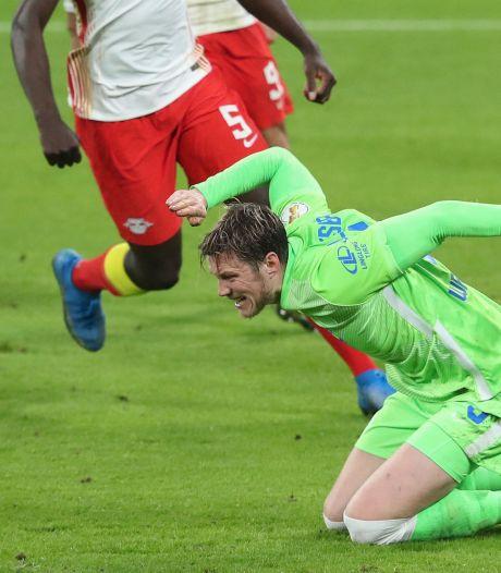 Weghorst speelt schlemielige hoofdrol tijdens bekernederlaag Wolfsburg