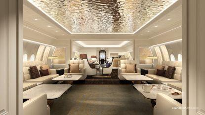 Vliegende superrijken: nieuwe luxejet is extravaganter en klimaatonvriendelijker dan ooit