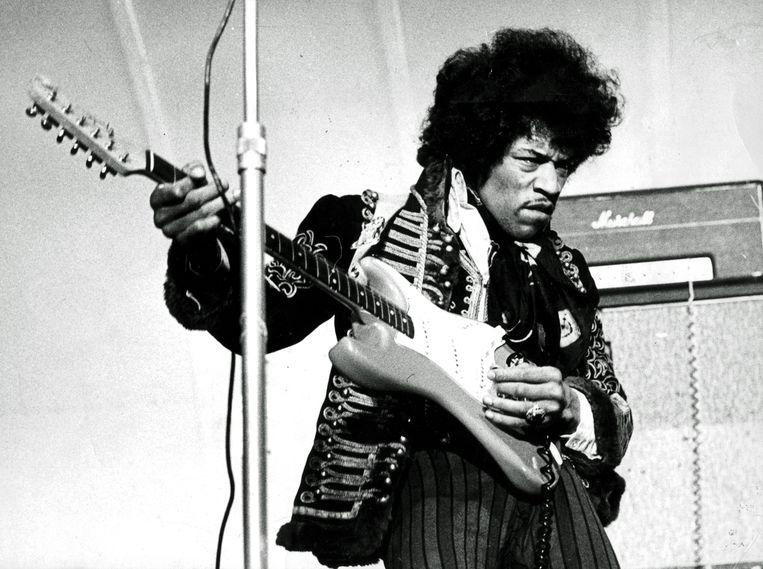 Jimi Hendrix Beeld AFP