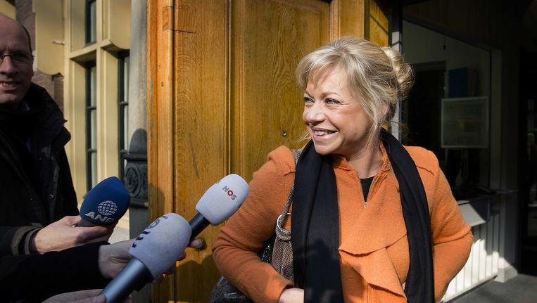 Jeanine Hennis-Plasschaert, minister van Defensie. Beeld ANP