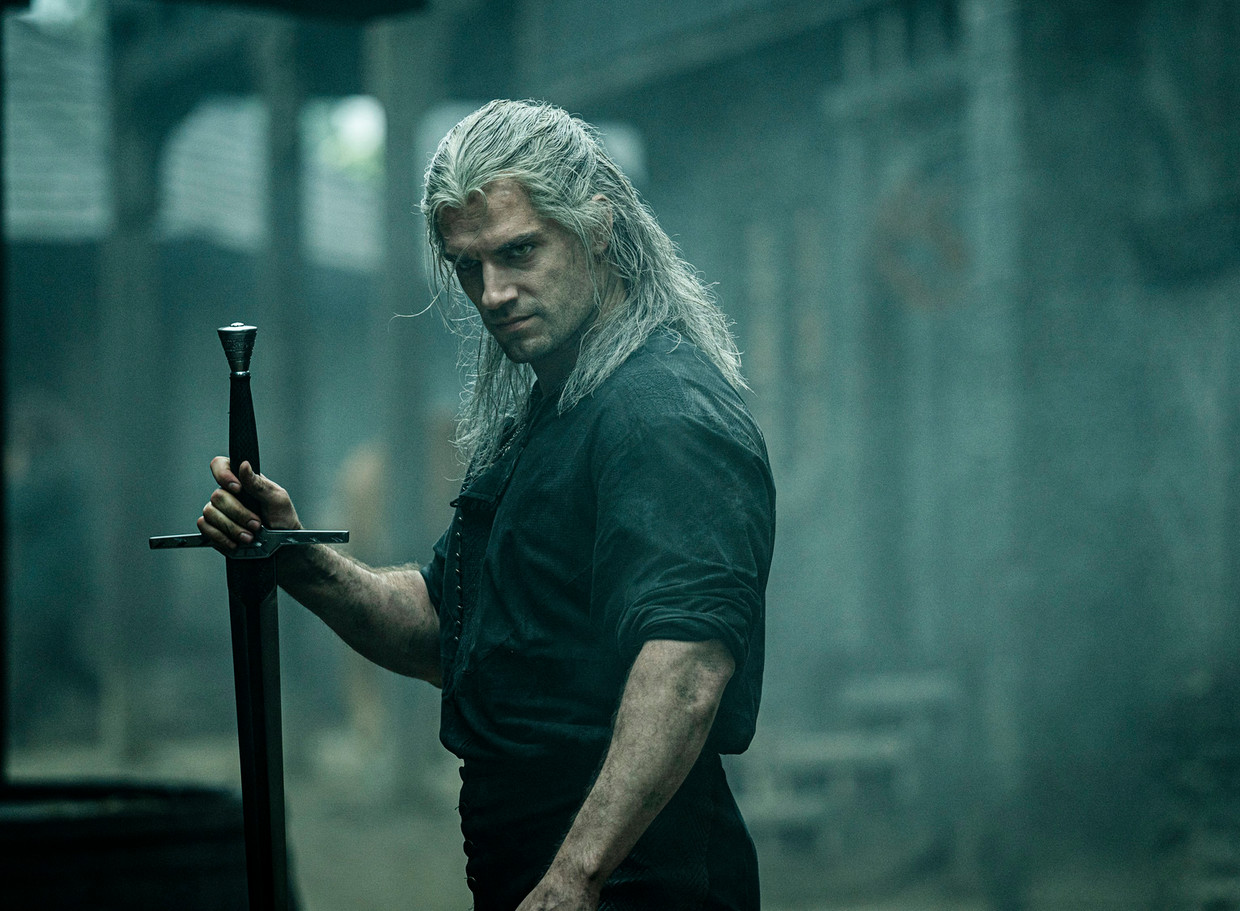 Henry Cavill als Geralt of Rivia in The Witcher.