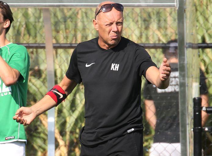 Ex-trainer Kurt Hugelier is een clubicoon bij Sparta Heestert.