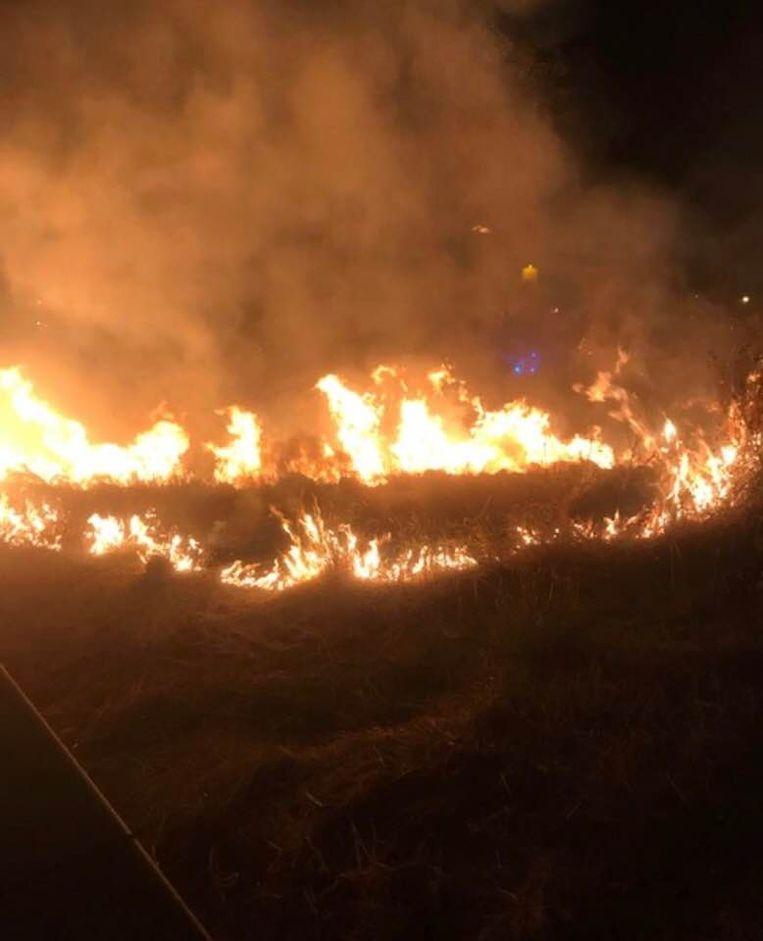 De oorzaak van de brand wordt nog onderzocht.