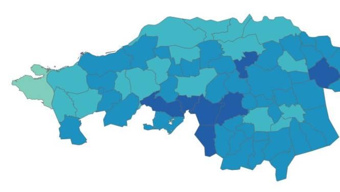 Dit is waarom 'te stads' Tilburg met lage vaccinatiegraad onderaan bungelt in Brabant