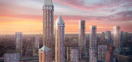 Den Haag gaat nog verder de lucht in: alle hoogterecords sneuvelen door vijf nieuwe torens