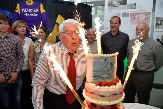 Raymond Poulidor a fêté ses 80 ans en 2016.