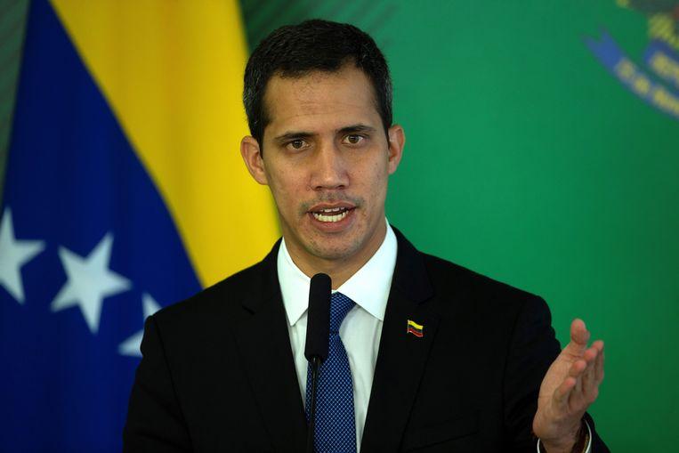 Juan Guaido Beeld EPA