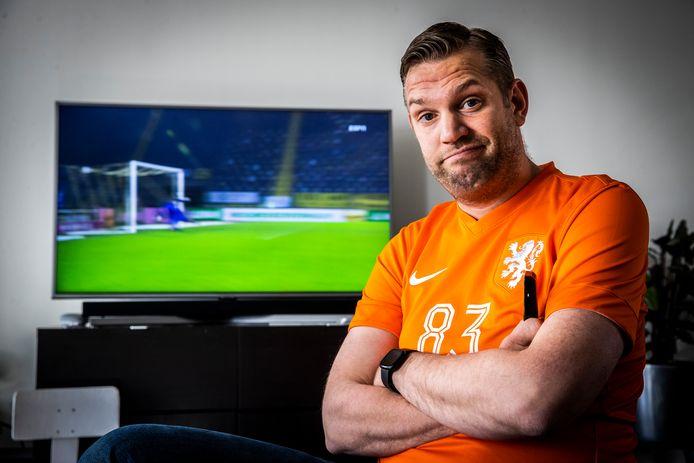 Oranjefan Tiemen Urban.