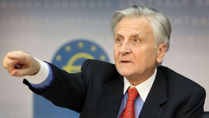 De Europese Centrale Bank heeft haar belangrijkste rentevoet vandaag verhoogd naar 1,25 procent. Foto: ECB-voorzitter Trichet