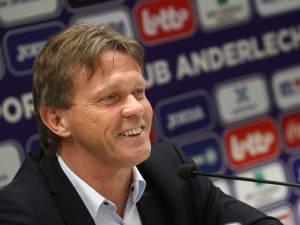 """Vercauteren: """"La proposition d'Anderlecht? Une surprise"""""""