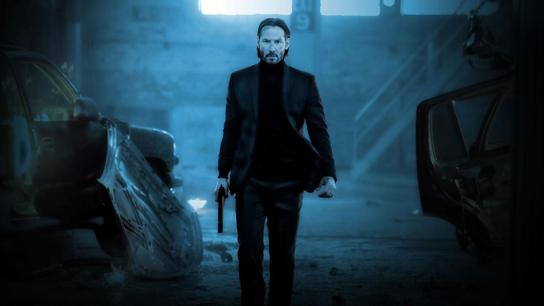 Keanu Reeves als John Wick. Beeld rv